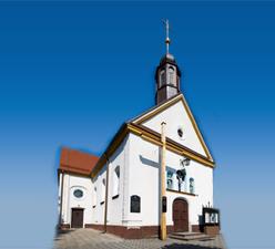 Kościół p.w. św.Karola Boromeusza wKryrach